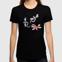 Dragonflies & Polka Dots T-shirt