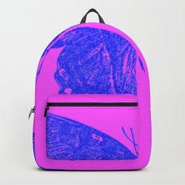 Neon Pop Butterfly  Backpack