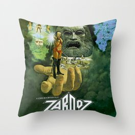 Zardoz (1974) Poster Throw Pillow