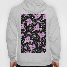 Do Whatever You Want Textile Print Hoody
