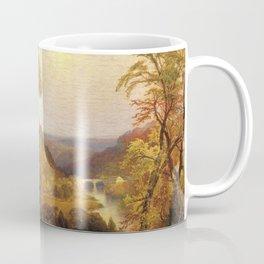 On The Wissahickon Near Chestnut Hill 1870 By Thomas Moran | Philadelphia Scenic Reproduction Coffee Mug
