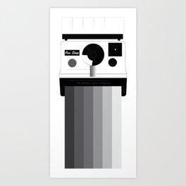 camera action  Art Print