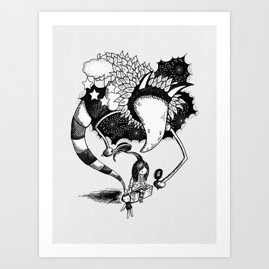 Imaginary Fiend Art Print