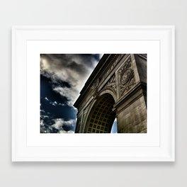 The Arc Framed Art Print