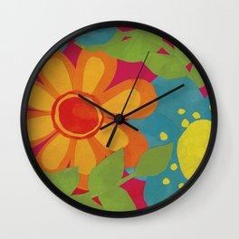 Bold and Bright Wall Clock
