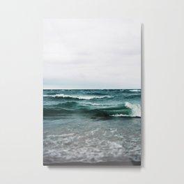 Turquoise Sea #2 Metal Print