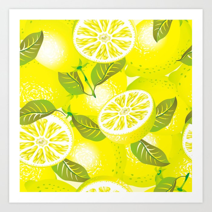 lemon background art print by romanmaisei society6 lemon background art print by romanmaisei