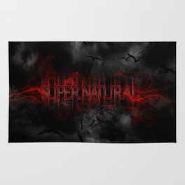 Supernatural darkness Rug