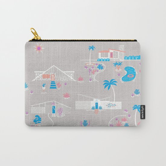 Desert Mid-Century Modern Carry-All Pouch