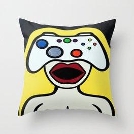 Controlher Throw Pillow
