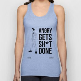 Angry Unisex Tank Top