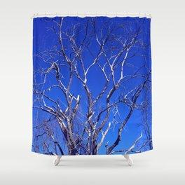 Dead Tree Defiance Shower Curtain