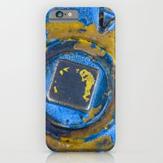 Blue and Yellow Slim Case iPhone 6s