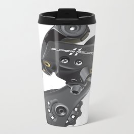 Campy Super Record Rear Derailleur Metal Travel Mug