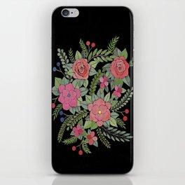 Russian flowers iPhone Skin