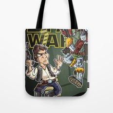 Star Wars - Han Solo x Bobba Fett Tote Bag
