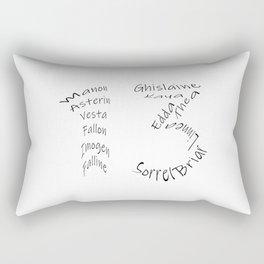 We are the Thirteen Rectangular Pillow