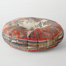 Texan - Vintage Label Floor Pillow