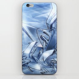 Mystique Blue iPhone Skin