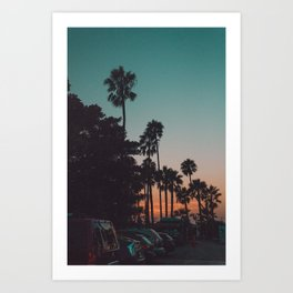 californian Art Print