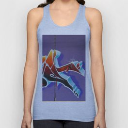 """Pealing back the layers"" Unisex Tank Top"