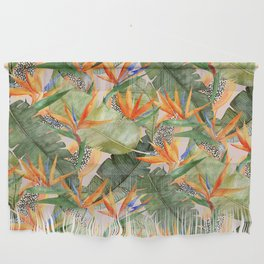 Birds of Paradise Wall Hanging