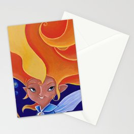 la fée Morganne Stationery Cards