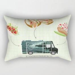 Foodtrucks | By Priscilla Li Rectangular Pillow