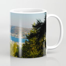 Patmos Island Greece - Bay View Coffee Mug