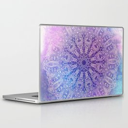 big paisley mandala in light purple Laptop & iPad Skin