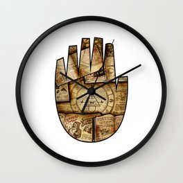 Bill's Hand Wall Clock
