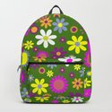 Multicolored Flower Garden Pattern by boutiquebijou