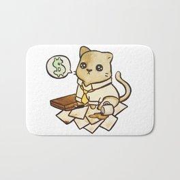 Business Cat Bath Mat