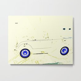 Sidecar, Please Metal Print