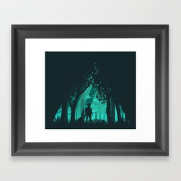 It's Dangerous To Go Alone Framed Art Print