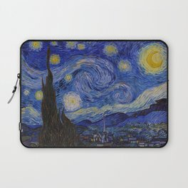The Starry Night by Vincent van Gogh (1889) Laptop Sleeve