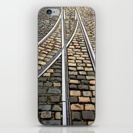 Rails and Cobbles iPhone Skin