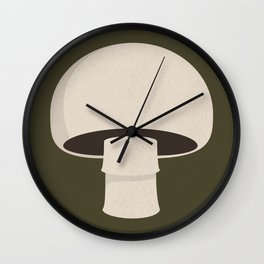 champignon Wall Clock