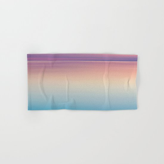 Color Layers Sunrise Sea Hand & Bath Towel