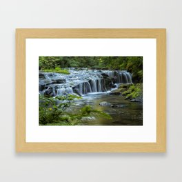 Ledge Falls, No. 4 Framed Art Print