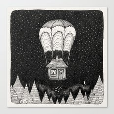midnight journey Canvas Print