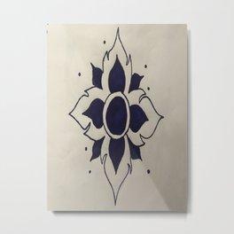 Lotusbloem Metal Print