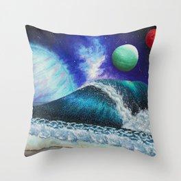 The Fourth Coast Throw Pillow