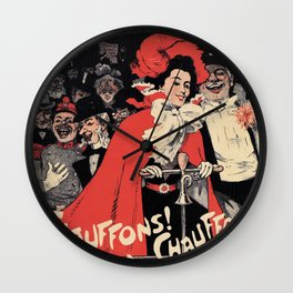 Heat it up! Wall Clock