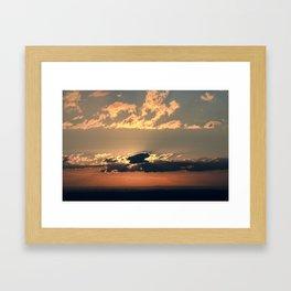 Crépuscule 2 Framed Art Print