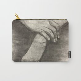 Charcoal Hands - human anatomy Carry-All Pouch