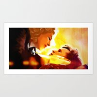 river song Art Prints featuring Find River Song by Nero749
