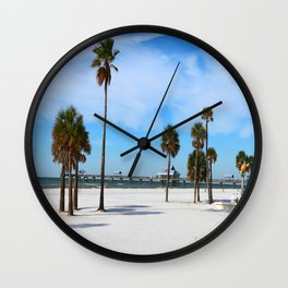 A Florida Winterday Wall Clock