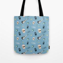 Twelve Doctor Who pattern Tote Bag