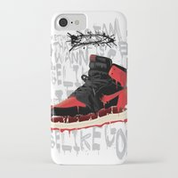 verse iPhone & iPod Cases featuring SOLE Search verse 1 by martymar54